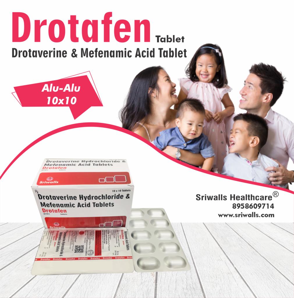 Drotaverine & Mefenamic Acid Tablets